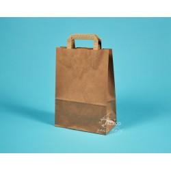 Papírové tašky EKO 22x11x31 hnědý kraft vyšší gramáž