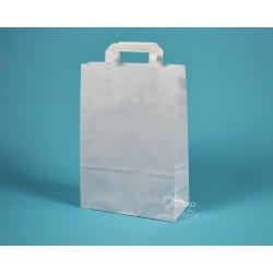 papírová taška EKO 25x11x36 bílá
