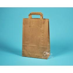 papírové tašky hnědé EKO 25x11x36 hnědý kraft vyšší gramáž