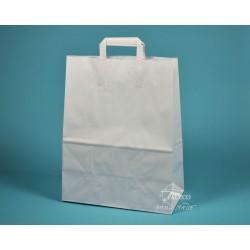 papírové tašky EKO 32x17x41 bílá 90g