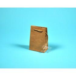 papírová taška GABRA 11x6,5x16 hnědá