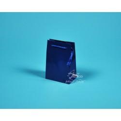 papírové tašky GABRA 11x6,5x16 modrá