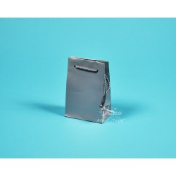 papírové tašky GABRA 11x6,5x16 stříbrná