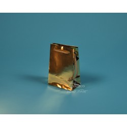 papírové tašky GABRA 11x6,5x16 zlatá
