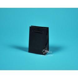 papírová taška GABRA 11x6,5x16 černá krída