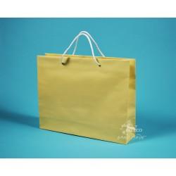 papírová taška PAVLÍNA 38x10x30 krémová