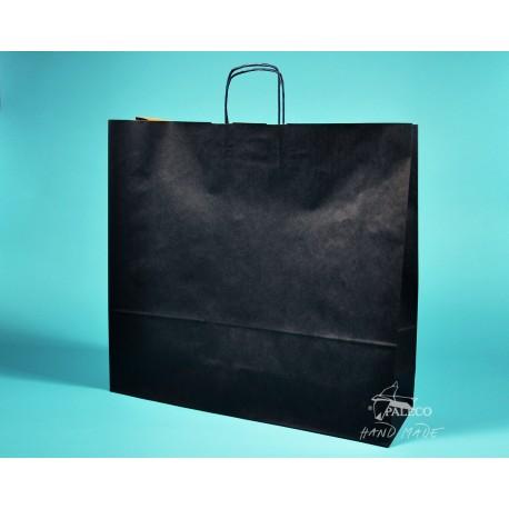 papírová taška TWIST 54x15x49 tmavomodrý sulfát 110g