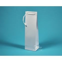 papírová taška ALEX (na víno) 11,5x9x37 bílá