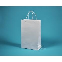 papírová taška JOSEFÍNA 22x9,5x33 bílá ofset