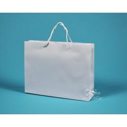 papírová taška RENATA 32x8x25 bílá