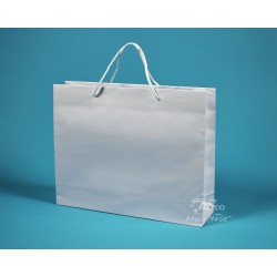 papírová taška PAVLÍNA 38x10x30 bílá