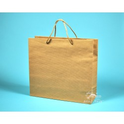 papírová taška KVIDO 36x12x33 hnědý kraft