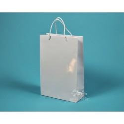 papírová taška JOSEFÍNA 22x9,5x33 bílá lamino