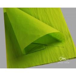 Balící papír hedvábný zelený 18g, balení 50 archů