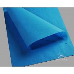 Balící papír hedvábný modrý 18g, balení 50 archů